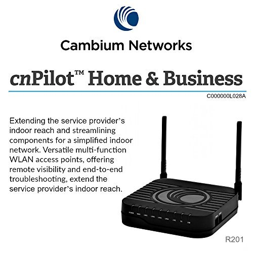 Cambium C000000L028A cnPilot R201 US 802.11ac Dual Band Gigabit WLAN Router ATA by Cambium Networks