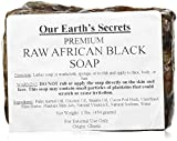 #10: Our Earth's Secrets Raw African Black Soap, 1 lb.