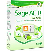 Sage ACT! Pro 2013 - Includes 1 hour ACT! 101 training webinar held weekly