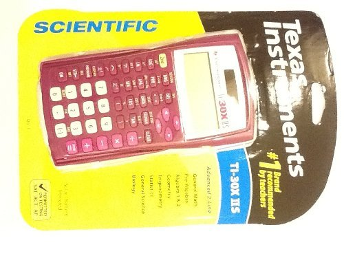 Texas Instrument TI-30X IIS Scientific Calculator Rose Pink Color