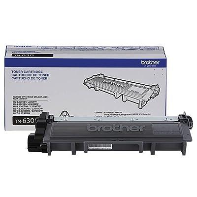 Genuine OEM Black Toner Cartridge Brother DCP-L2540DW DCP-L2520DW HL-L2300D HL-L2320D HL-L2340DW HL-L2360DWHL-L2380DW MFC-L2700DW MFC-L2720DW MFC-L2740DW - TN630 - Yield 1,200 pages