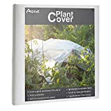 AGTEK Floating Row Covers 1oz 10x50 FT Plant Covers for Frost Protection & Seed Germination
