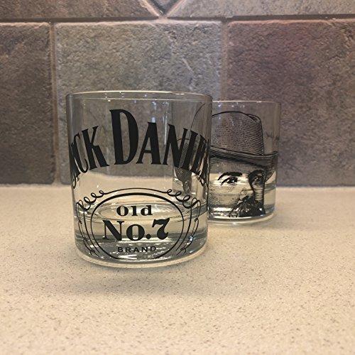 Jack Daniel's Big Logo Glasses (Set of - Jack Glasses Daniels