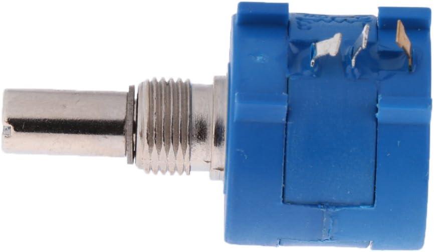 1Pcs 3590S Rotary 10 Turns Potenci/ómetro Multivuelta Resistor Ajustable 100k