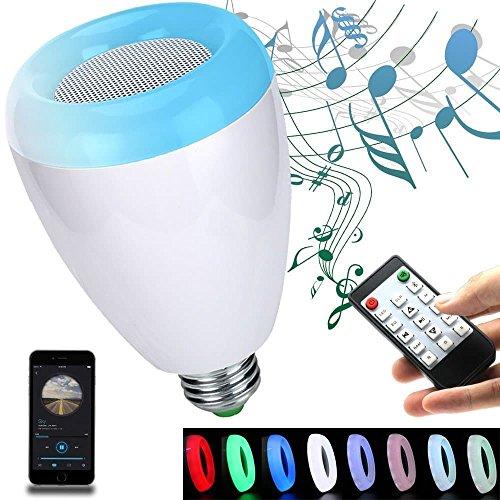 Led Bulbs Light Bulb Wireless Bluetooth Dimmable Lamp