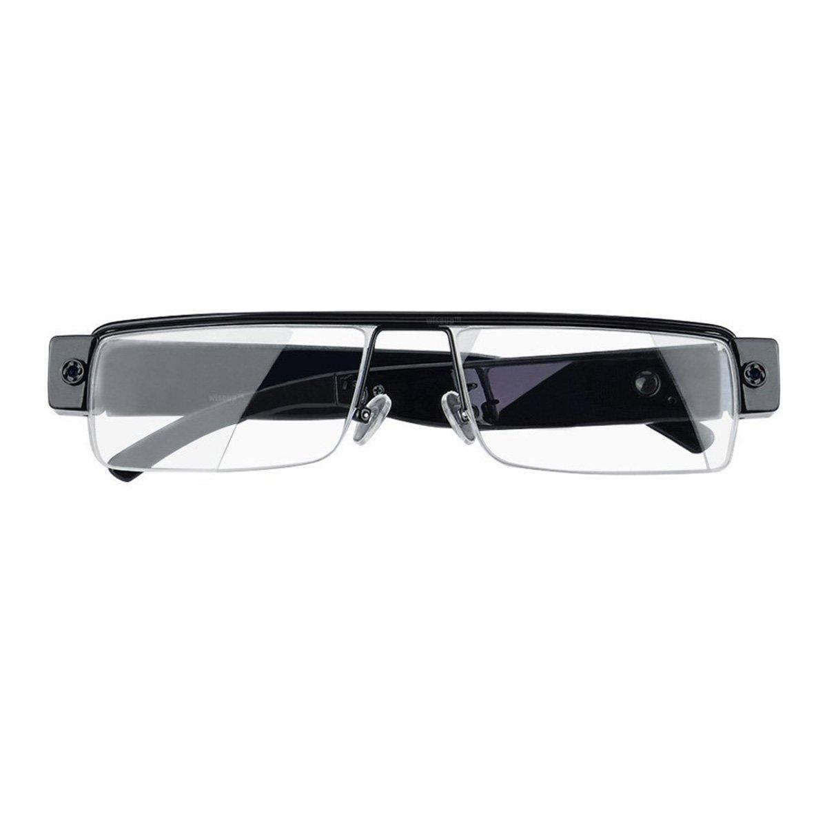 9e4e7689974 Amazon.com  Spy Camera Glasses 1080p Support Up to 32GB TF Card Fashion  Camera Glasses with Video Portable Video Recorder  Electronics