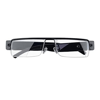 e5da50d68f Amazon.com   Spy Camera Glasses 1080p Support Up to 32GB TF Card Fashion  Camera Glasses with Video Portable Video Recorder   Camera   Photo