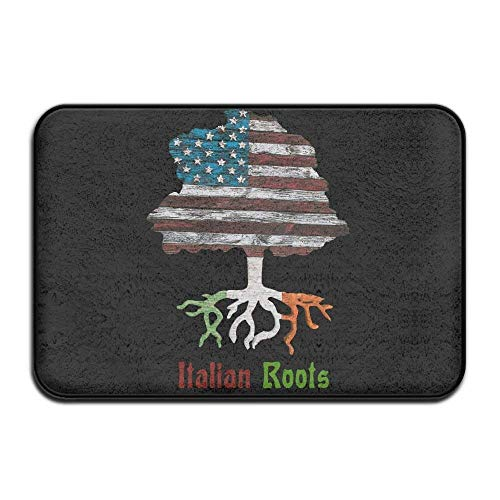 Cheap  Breathing Yoga Inside & Outside Carpet Entrance Mat American Italian Roots Design..