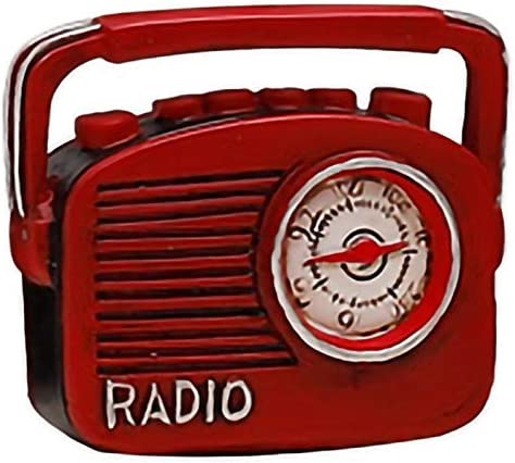 REFURBISHHOUSE Retro Radio Pianos Cámaras Teléfono Modelo Artesanía Ornamento Inalámbrico Nostalgia De Imitación Antigua Artesanía Decoración De Casa Bar: Amazon.es: Hogar