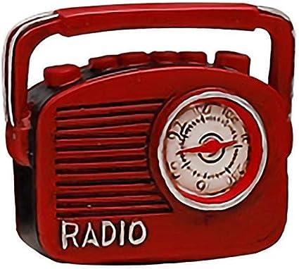 REFURBISHHOUSE Retro Radio Pianos Cámaras Teléfono Modelo Artesanía Ornamento Inalámbrico Nostalgia De Imitación Antigua Artesanía Decoración De Casa Bar