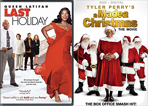 Tyler Perry A Madea Christmas + Last Holiday Double Feature DVD movie bundle