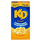 KD Kraft Dinner 3 Cheese Macaroni and Cheese, 200g