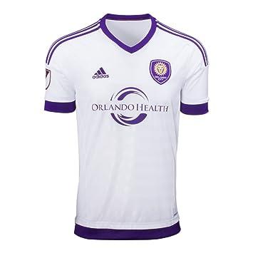 adidas Climacool camiseta de fútbol: 2015 Orlando City Away camiseta MLS camiseta FC Estadio de fútbol ventilador grande: Amazon.es: Deportes y aire libre