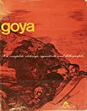 img - for Francisco Goya-His complete etchings, aquatints and lithographs book / textbook / text book