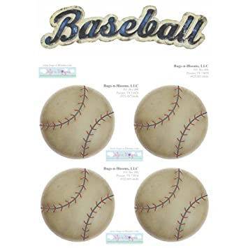 Baseball Decal Stickers Boys Sport Theme Boy Wall Graphics Removable Vinyl Mural Sticker Decals Children Nursery
