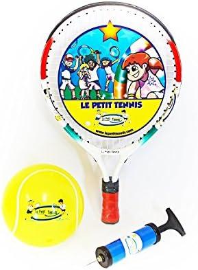 Le Petit Tennis LPT-15 - Raqueta de tenis y bola hinchable para niños de 1-2 años