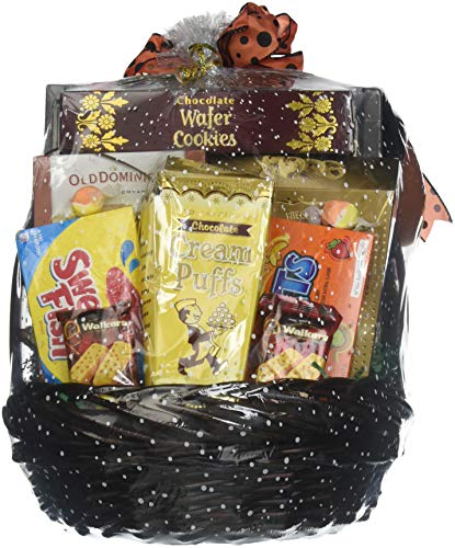 Gift Basket Village - The Monster Mash, Halloween Gift Basket Loaded With Halloween Candy Favorites | For Kids or Adults