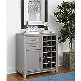Ameriwood Home Carver Bar Cabinet, Gray