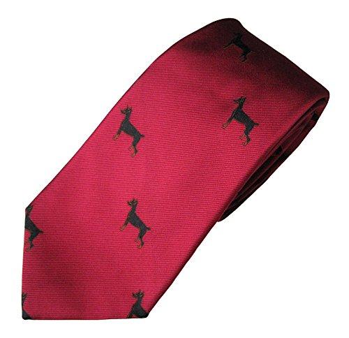 Doberman Tie (Men's Dog Breed Neck Tie)