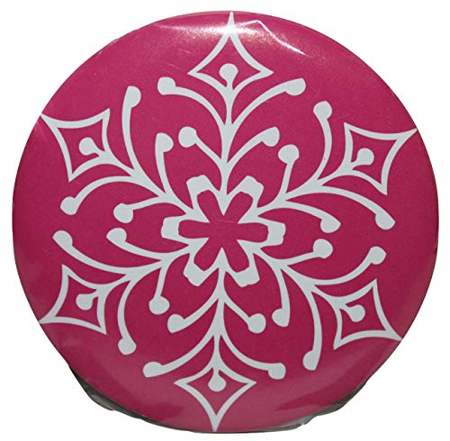 Winter and Holiday Theme Compact Purse Mirror 3 Inch Diameter -