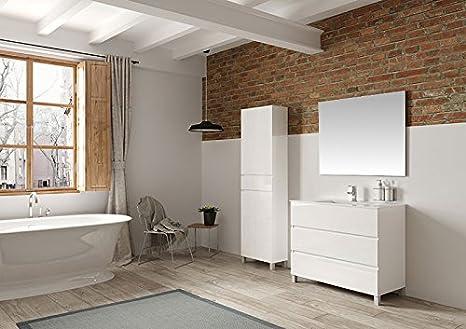 Hogar decora mobile bagno lavabo ceramica specchio