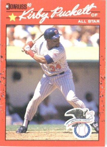 1990 Donruss # 683A Kirby Puckett AS Minnesota Twins Baseball Card ()