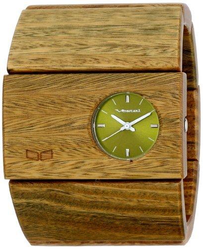 Vestal-Womens-RSW004-Rosewood-Burnt-Ebony-Wood-Bangle-Watch