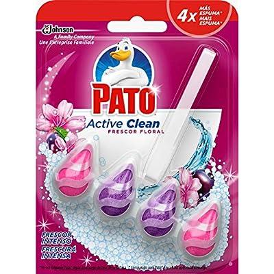 Pato - Active Clean Colgador para Inodoro, Aroma Frescor Floral, 38.6 gr