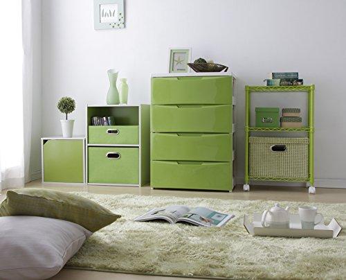 IRIS 2-Tier Wood Storage Shelf, Green by IRIS USA, Inc. (Image #5)
