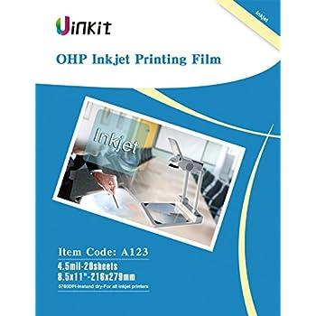 OHP Film Overhead Projector Film - 8.5x11