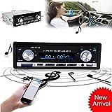FidgetFidget New Bluetooth Car Stereo Audio In-Dash FM Aux Input Receiver SD USB MP3 Radio