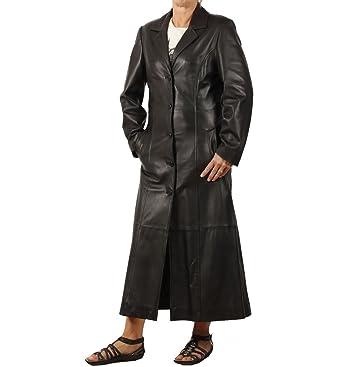 Et Long Taille Noir Femme En 22 Vêtements Manteau Cuir F8Pvqq1