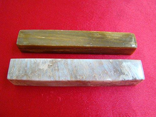Flo2809 Rare Petrified Wood Knife Rest Pair