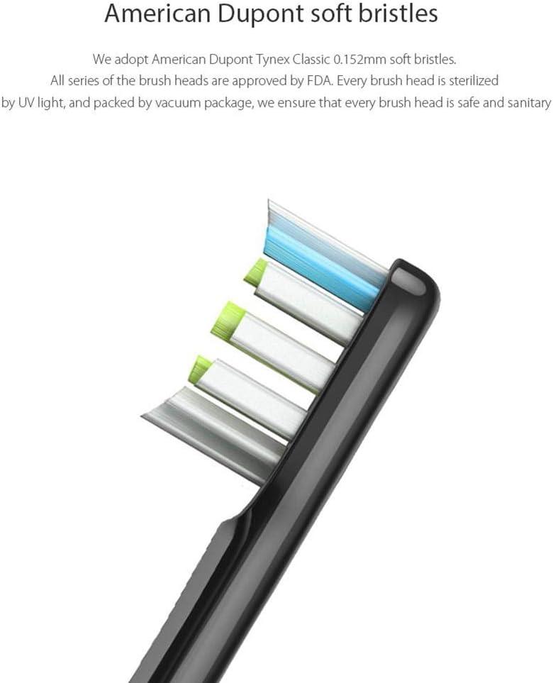 Matefielduk Lot de 2 t/êtes de Rechange pour Brosse /à Dents /électrique Xiaomi Soocas Soocare X3 Blanc