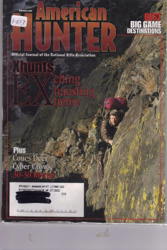 Coues Deer - American Hunter Magazine February 2002 (1-517, Xhunts Exciting Exhausting Extreme! Plus Coues deer, cyber crows & .30-30 Revival!)