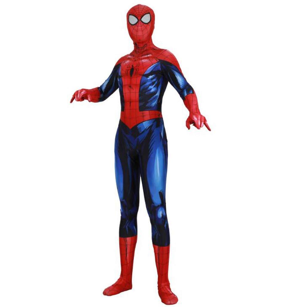 ZYFDFZ Luminous Spider-Man Cosplay Siamesische All-Inclusive-Strumpfhosen Kostüme Erwachsene Filmshow Makeup Kostüme Requisiten Cosplay Requisiten (Farbe   Blau, größe   XXL) B07C1RSXGF Kostüme für Erwachsene Berühmter Laden  | Exquis