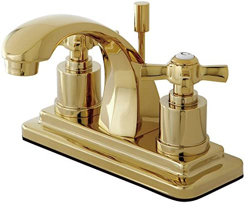 American Standard 3801.000.295 Amarilis 2-Handle Widespread Faucet with Jasmine Spout and Speed Connect Drain, Satin Nickel Handles Not Included
