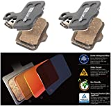Cooma 2 Pairs | Avid Sram Level TL T Elixir R Cr Mag 9 7 5 3 1 Xx X0 World Cup DB5 DB3 DB1 Replacement Brake Pads By, Organic Semi-metallic