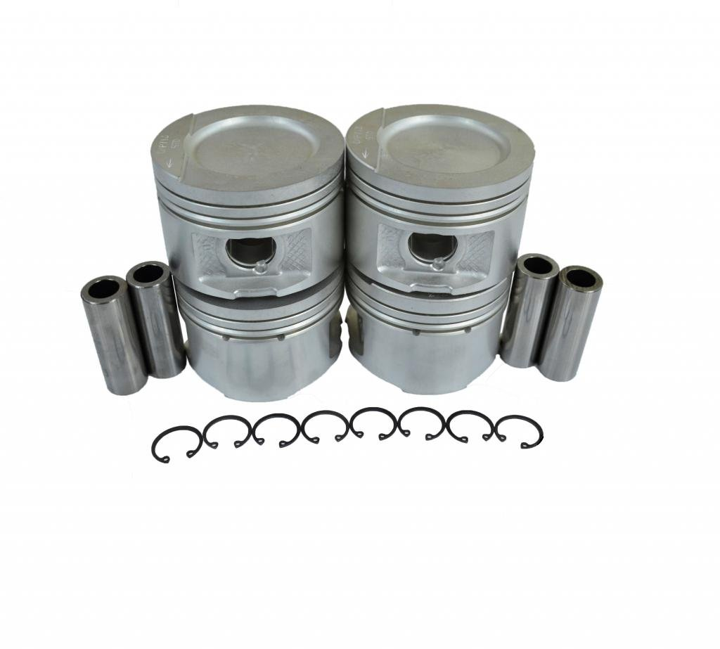 Diamond Power Pistons w/Pins works with NISSAN 240sx 2.4L DOHC