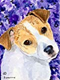 Caroline's Treasures SS8740CHF Jack Russell Terrier Flag Canvas, Large, Multicolor Review