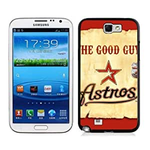 Hot MLB Houston Astros Samsung Galalxy Note 2 N7100 Case Cover For MLB ouston Astros Fans By zeroCase