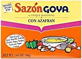 Goya Sazon Con Azafran, 1.4 oz (Pack of 72)