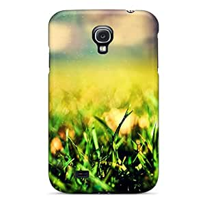 Johnmarkpl Case Cover Protector Specially Made For Galaxy S4 Grass Blurred