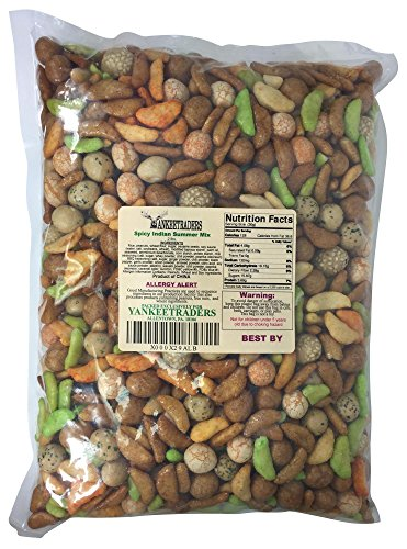 Yankee Traders, Spicy Indian Summer Oriental Rice Snack Mix - 2 Lb Bag