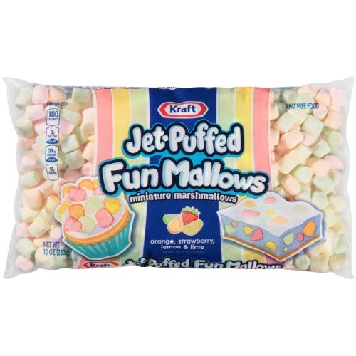Kraft Jet Puffed Funmallows (Pack of 24)