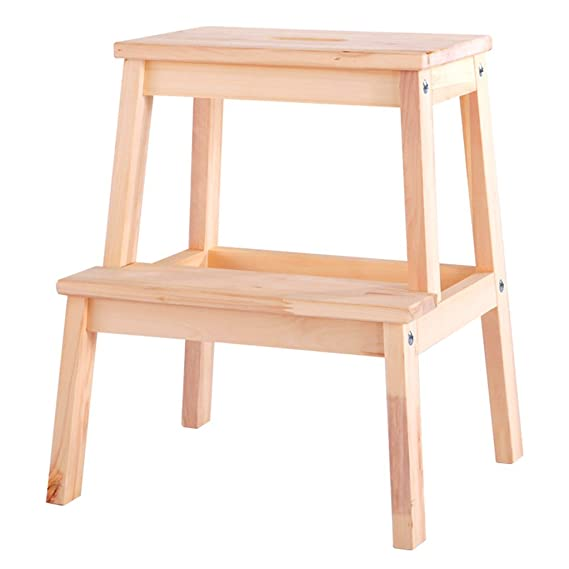 Amazon.com: Yxsd Step Stool Wooden Bench Childrens Low ...