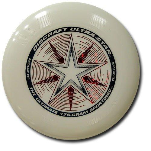 Frisbee Profesional Discraft 175 Gramos / 27cm. Ultra Star Sport Disc Glow