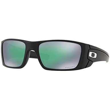 28dbd71f264e Oakley Men's Fuel Cell Non-Polarized Iridium Rectangular Sunglasses, Matte  Black, ...