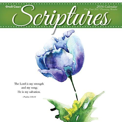 2016 Scriptures Wall Calendar