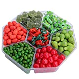 Christmas Candy Gift Platter, Christmas Candy Gift Tray, Party Candy, Holiday Gift, Unique Candy Treat